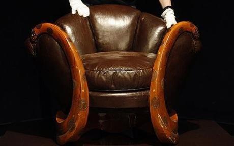 najdrozszy fotel swiata